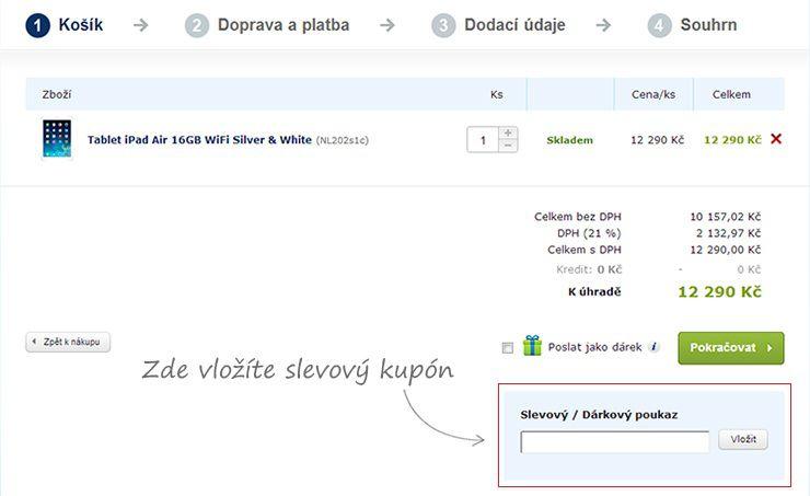 Slevový kupón Alza.cz / Slevový kód Alza