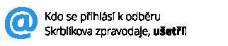 Skrblíkův zpravodaj - každou středu užitečné tipy bez spamu