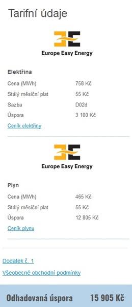 Aukce dodavatelů energií dTest
