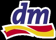 Logo drogerie DM