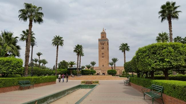 Hlavní mešita v Marrakéši