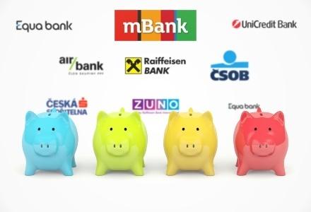 Srovnání bankovních účtů zdarma