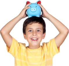 Bankovní účet pro děti do 15 let