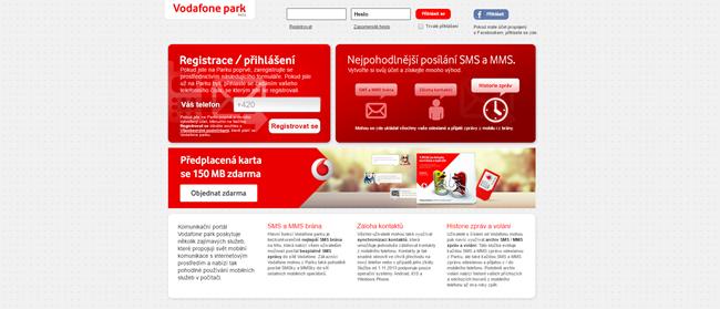 SMS do Vodafone zdarma