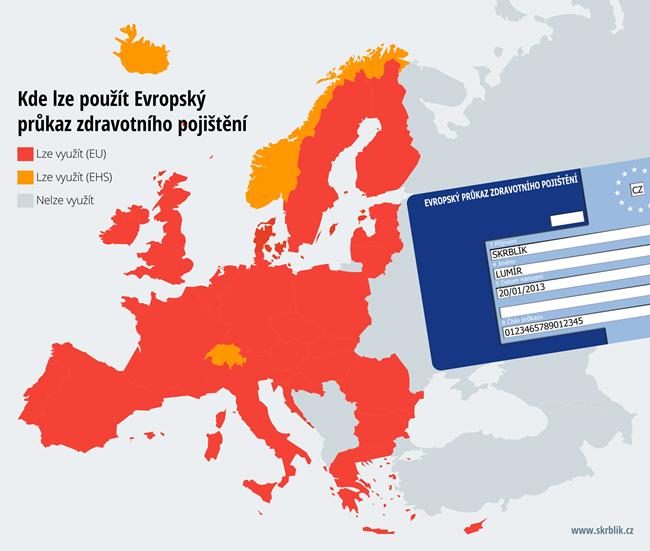 Evropský průkaz zdravotního pojištění