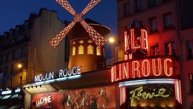 Moulin Rouge v Paříži | © Pixabay.com