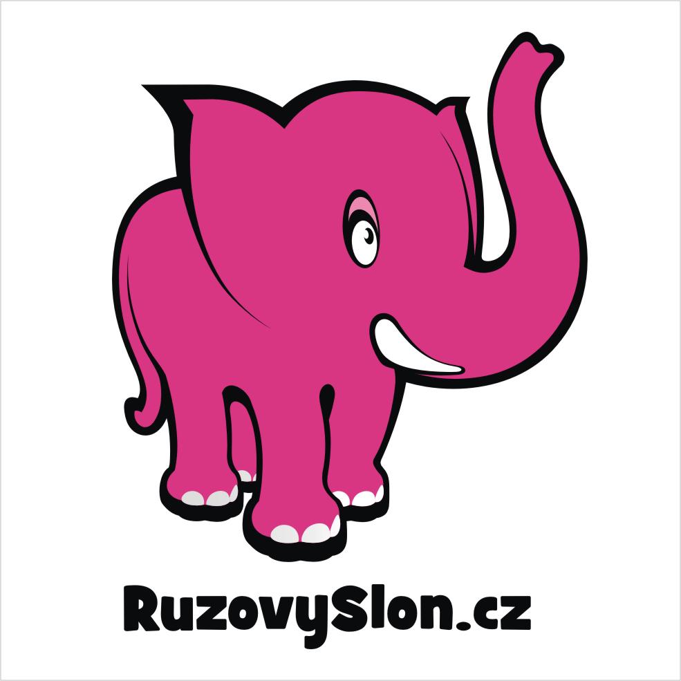 Růžový Slon slevový kupón