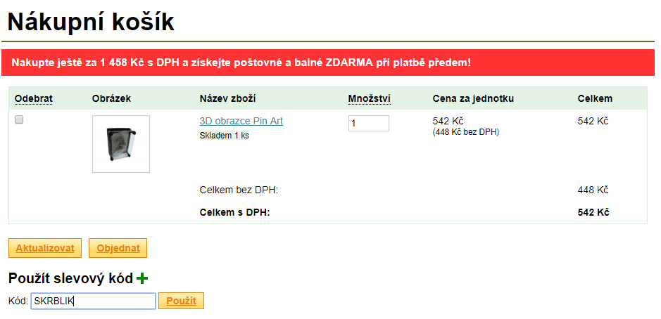 Slevový kód Darcik.cz