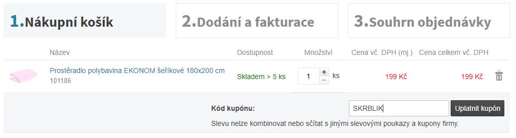Slevový kód VýprodejSkladů.eu