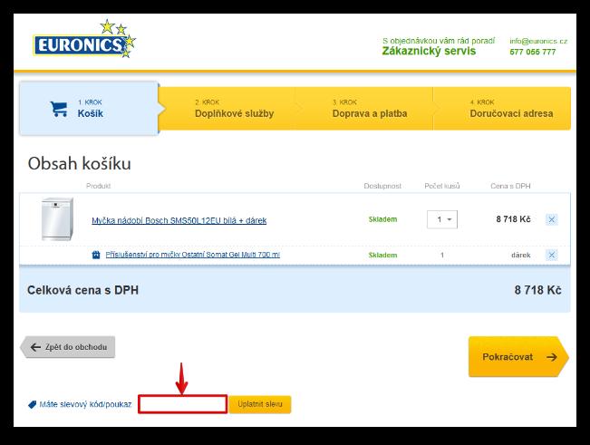 Slevový kupón Euronics / Slevový kód Euronics