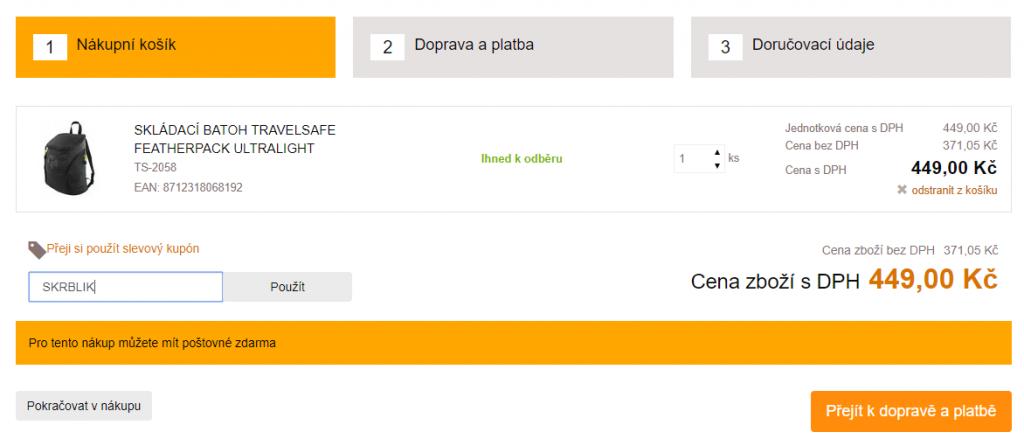 Slevový kód Outdoorstuff.cz