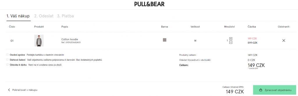 Slevový kód Pull & Bear