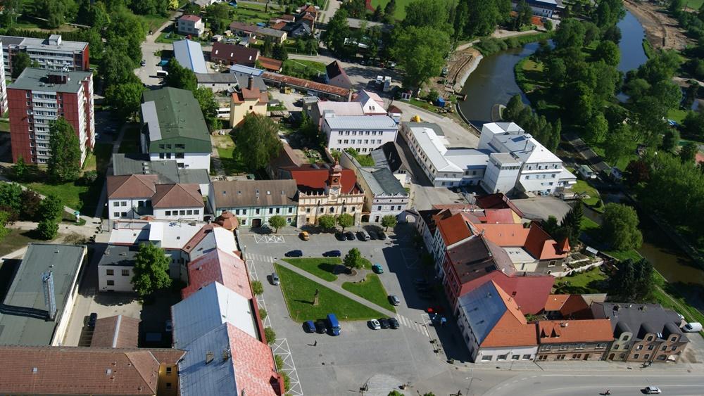 Město Veselí nad Lužnicí   © Kralpilot   Wikipedia