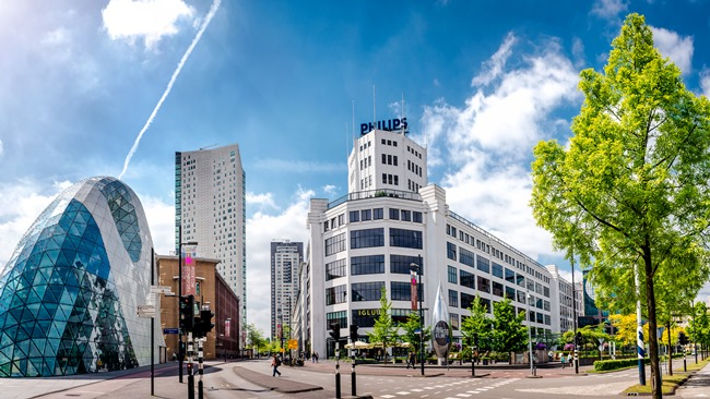 Eindhoven Amoklv | Dreamstime.com - Panorama Of Eindhoven City Center. Netherlands Photo