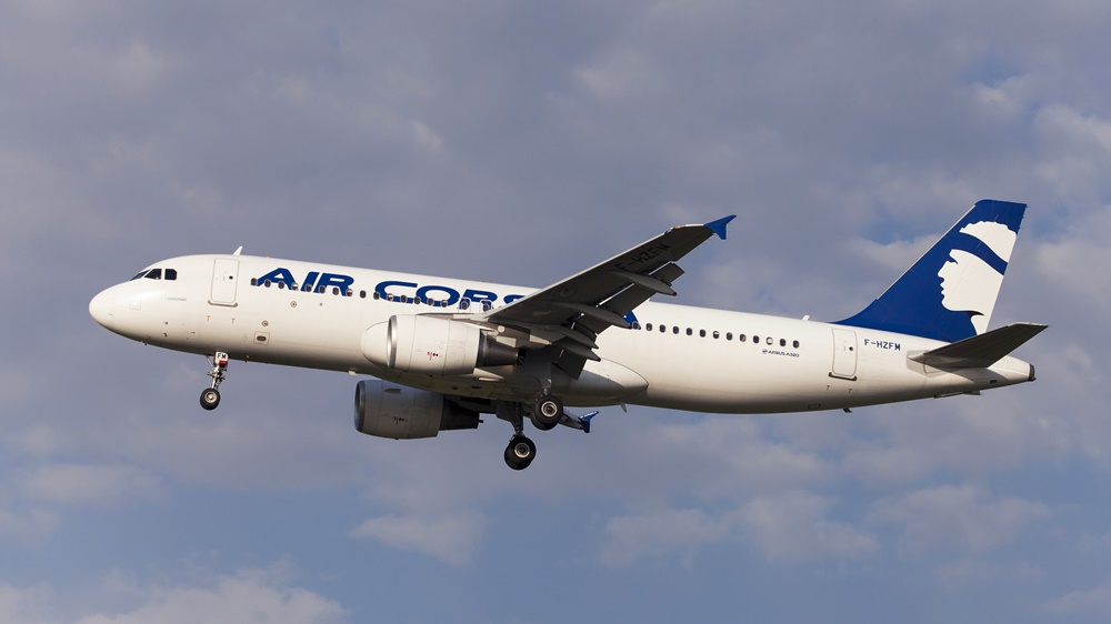Air Corsica | © Santiago Rodríguez Fontoba - Dreamstime.com