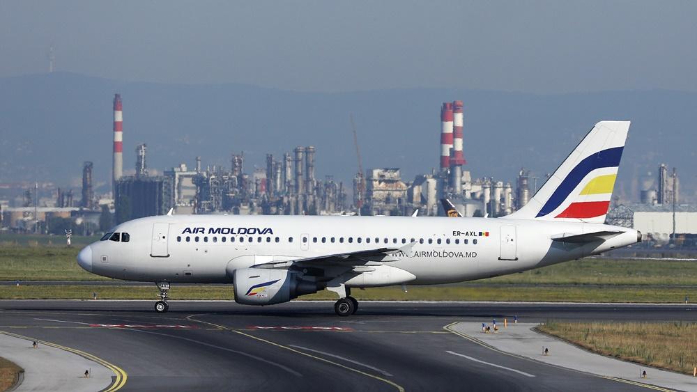 Air Moldova   © Colicaranica   Dreamstime.com