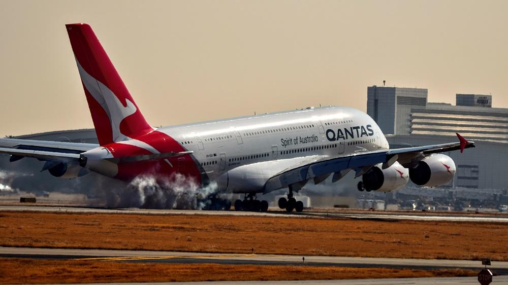 Qantas | © Joshua Olson | Dreamstime.com