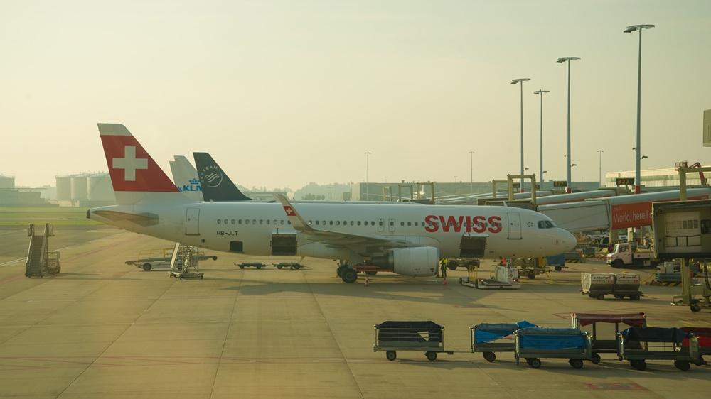 Swiss International Air Lines   © Victor Karasev - Dreamstime.com