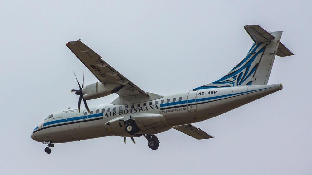 Air Botswana   © James Healley   Dreamstime.com