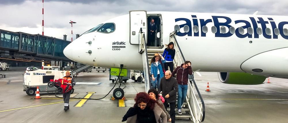 airBaltic | © Ellesi | Dreamstime.com