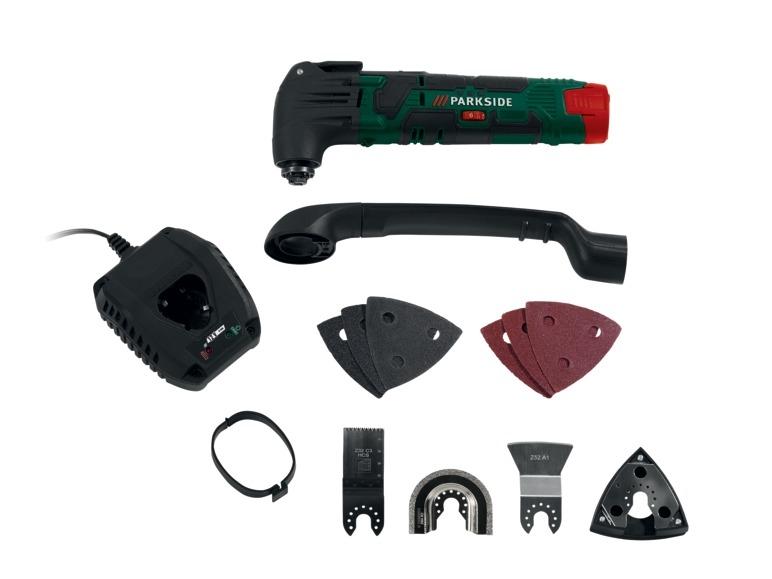 Aku multifunkční nástroj Parkside PAMFW 10.8 A1 (10,8 V)