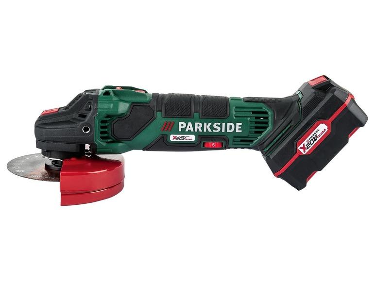 Aku úhlová bruska Parkside PWSA 20-Li B3