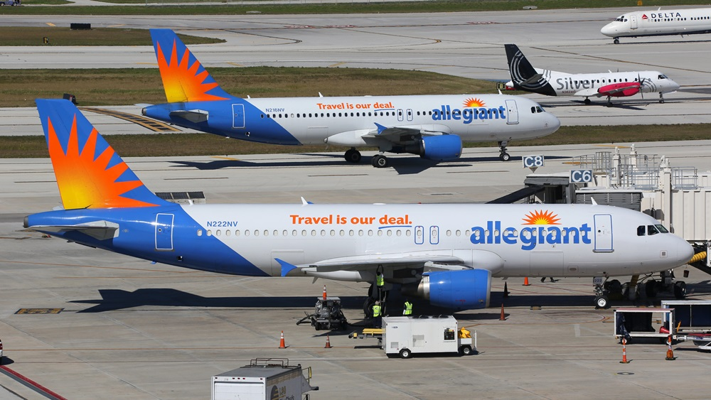 Allegiant Air | © Boarding1now | Dreamstime.com