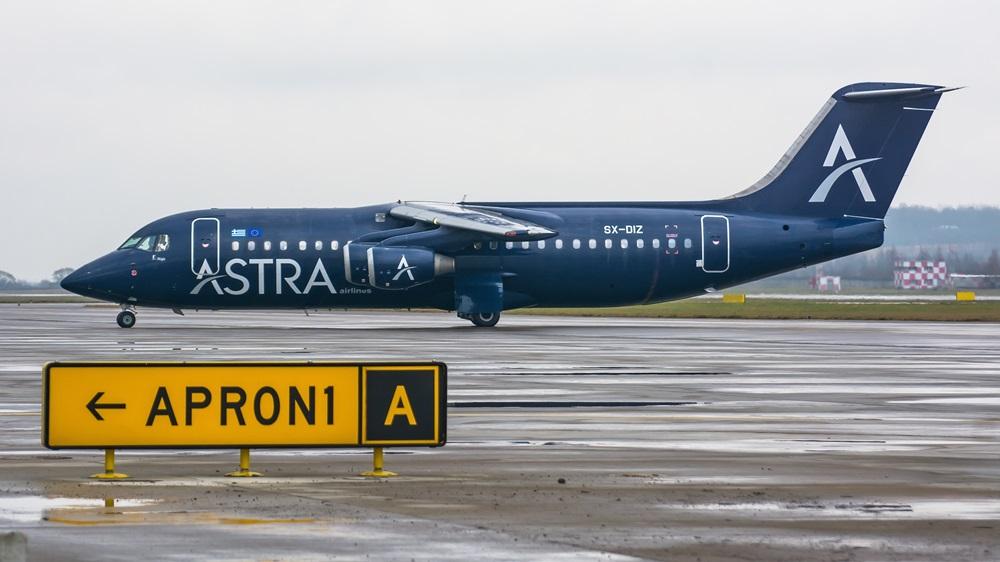Astra Airlines | © Dezzor | Dreamstime.com