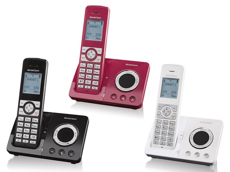 Bezdrátový telefon se záznamníkem Silvercrest SDT 1.9 B4