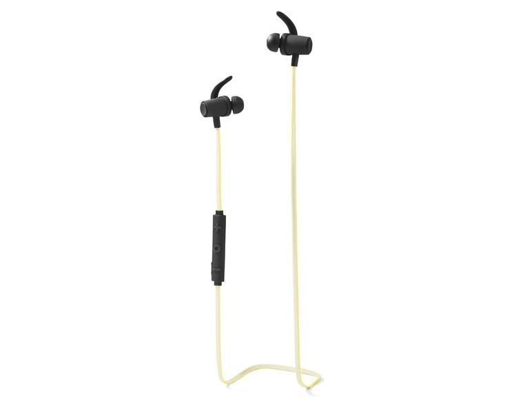 Bluetooth bezdrátová sluchátka Silvercrest SBKN 4.0 B1