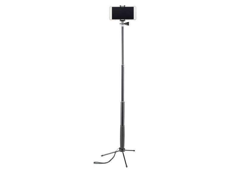 Bluetooth selfie tyč se stojanem Silvercrest SSBS 3.0 A1