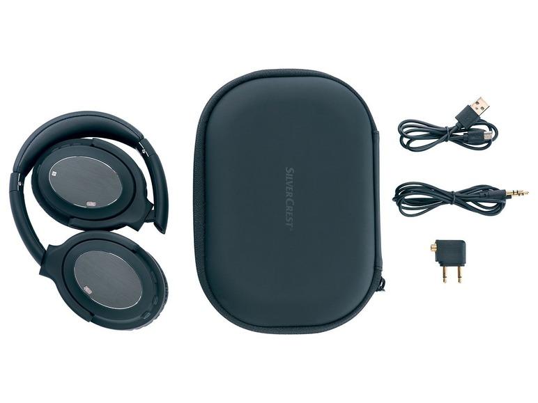 Bluetooth sluchátka saktivním potlačením okolního hluku Silvercrest SBKL 40 A1