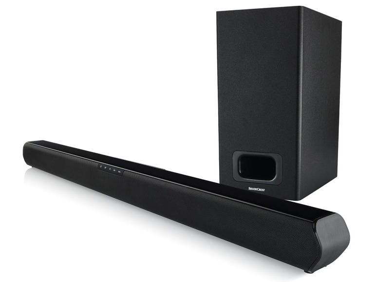 Bluetooth soundbar sbezdrátovým subwooferem Silvercrest SBW 60 A1
