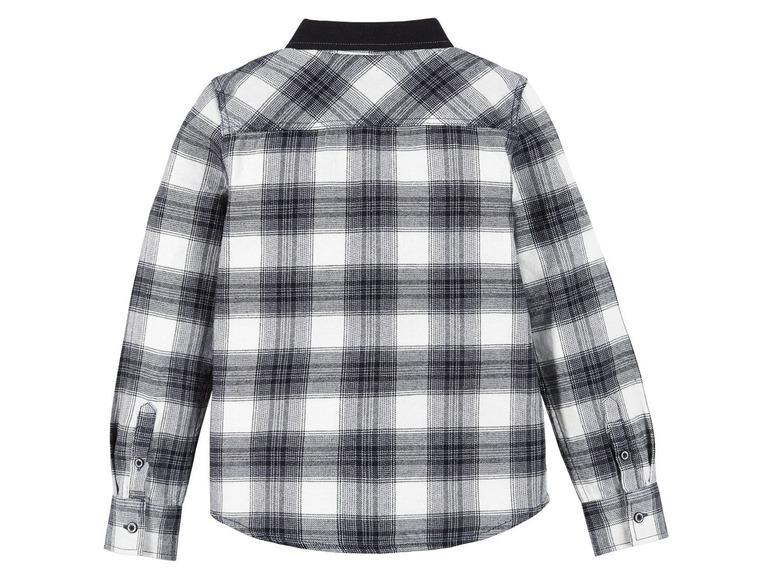 Chlapecká flanelová košile Pepperts