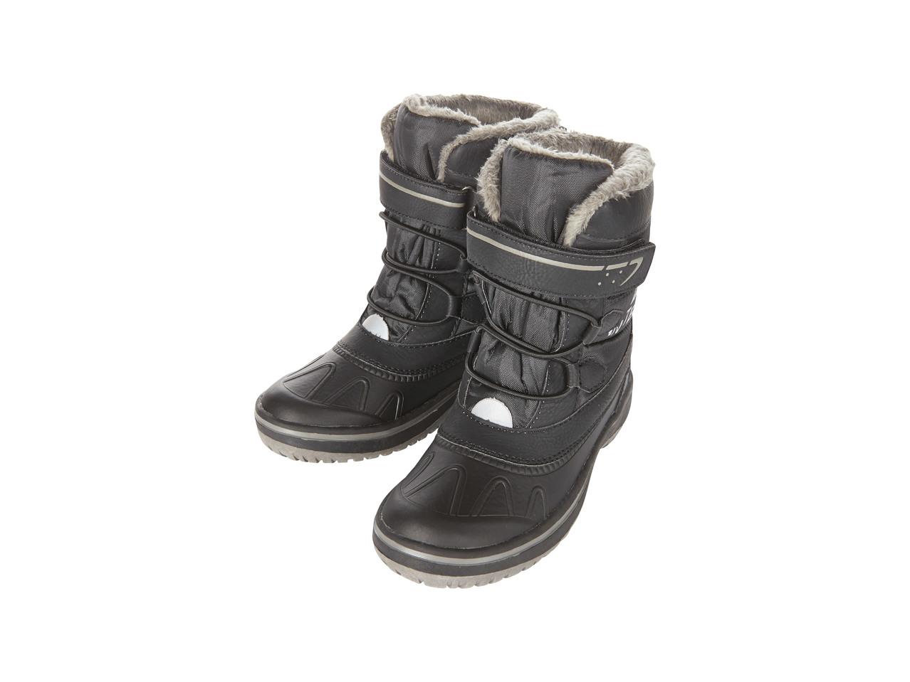 Chlapecká zimní obuv Pepperts