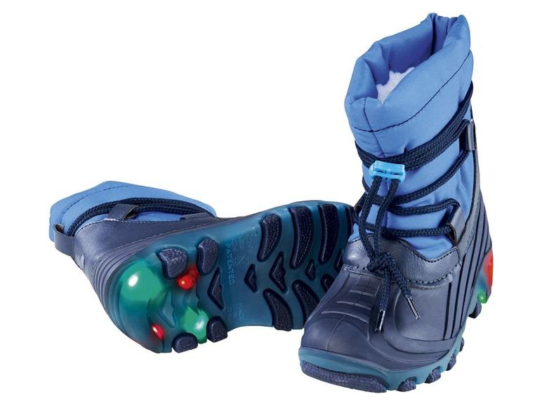 Chlapecké blikající zimní boty Lupilu