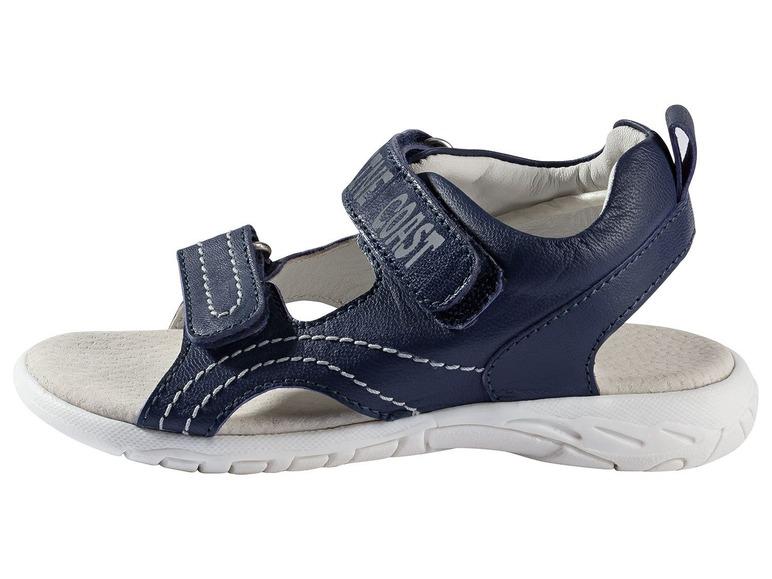 Chlapecké kožené sandály Lupilu