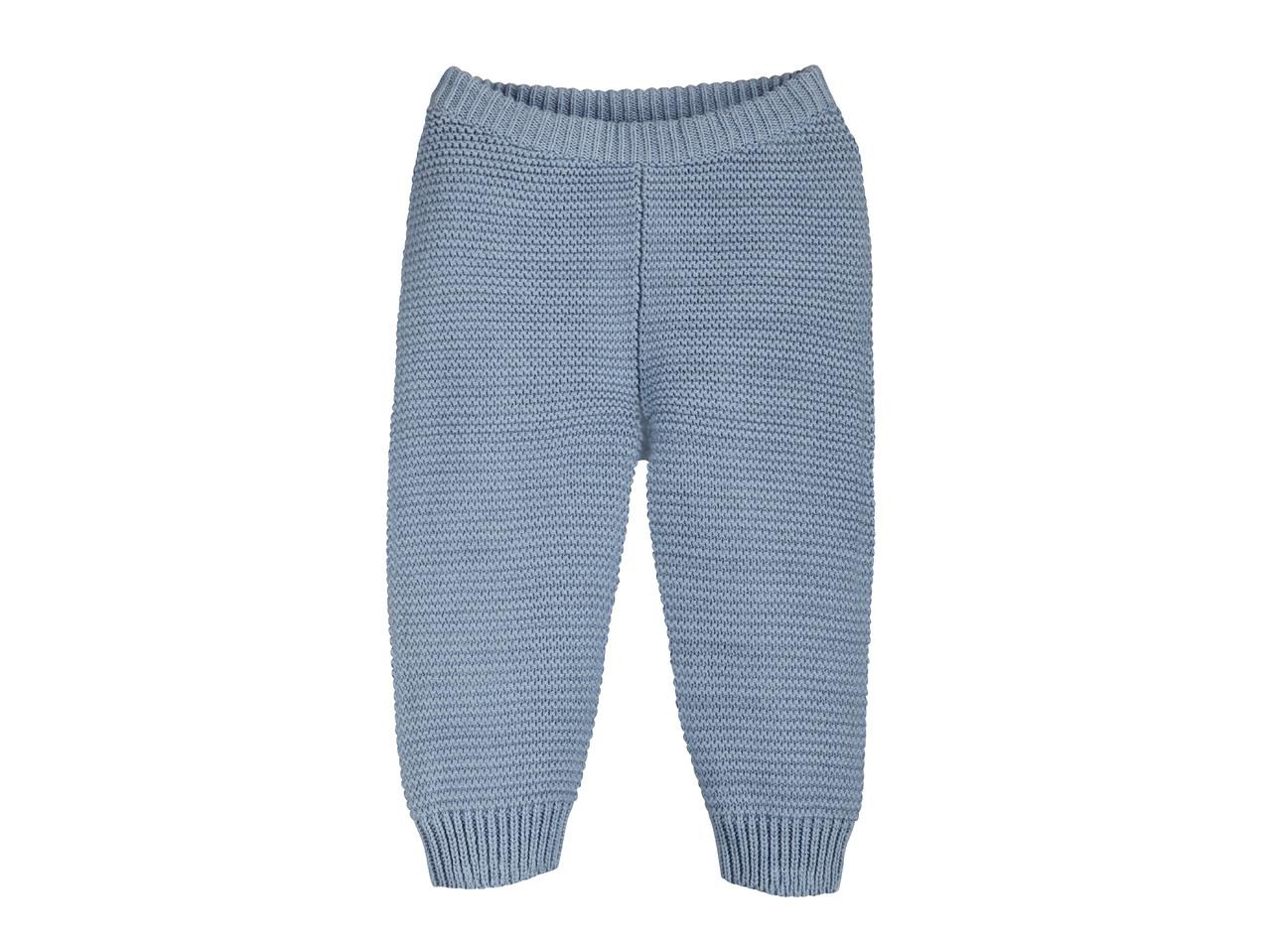 Chlapecké pletené kalhoty Lupilu