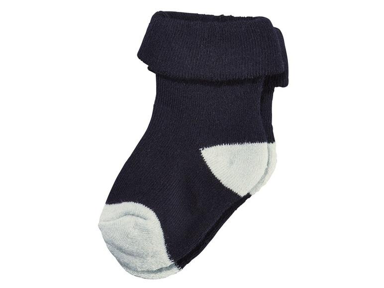 Chlapecké plyšové ponožky Lupilu