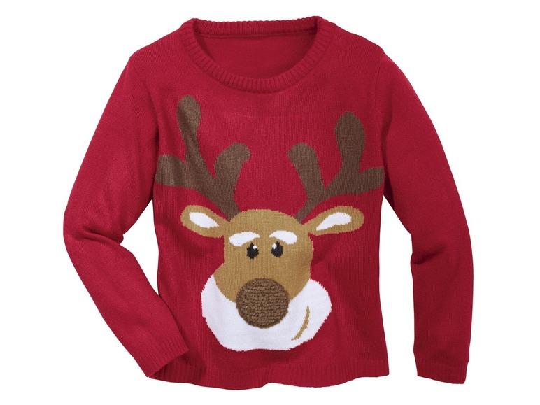 Chlapecký vánoční svetr Lupilu