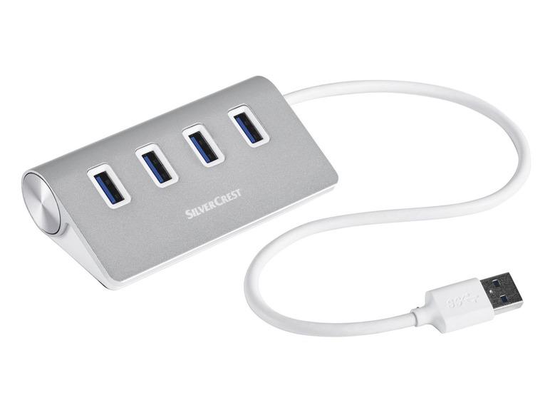 Čtyřportový USB 3.0 hub Silvercrest