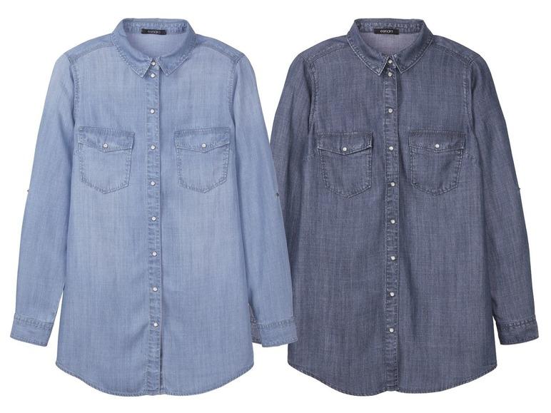 Dámská džínová košile Esmara z Lidlu  3a12ece6f0