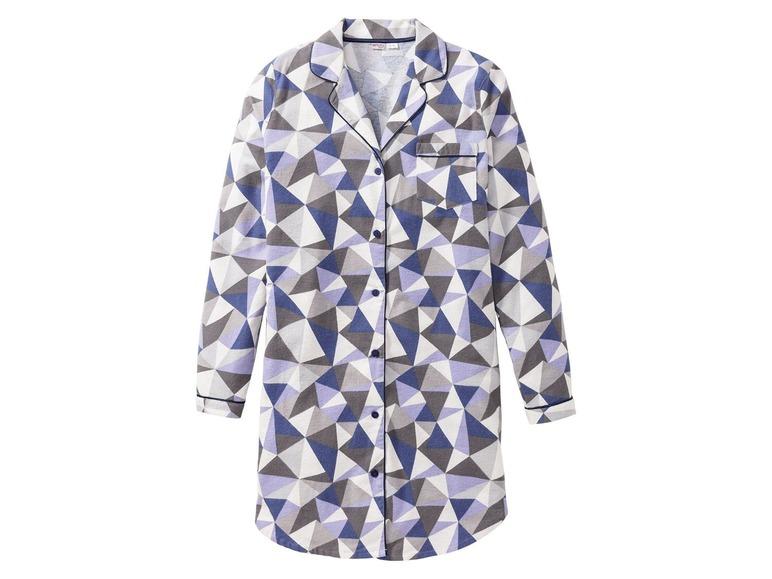 Dámská flanelová noční košile Esmara Lingerie