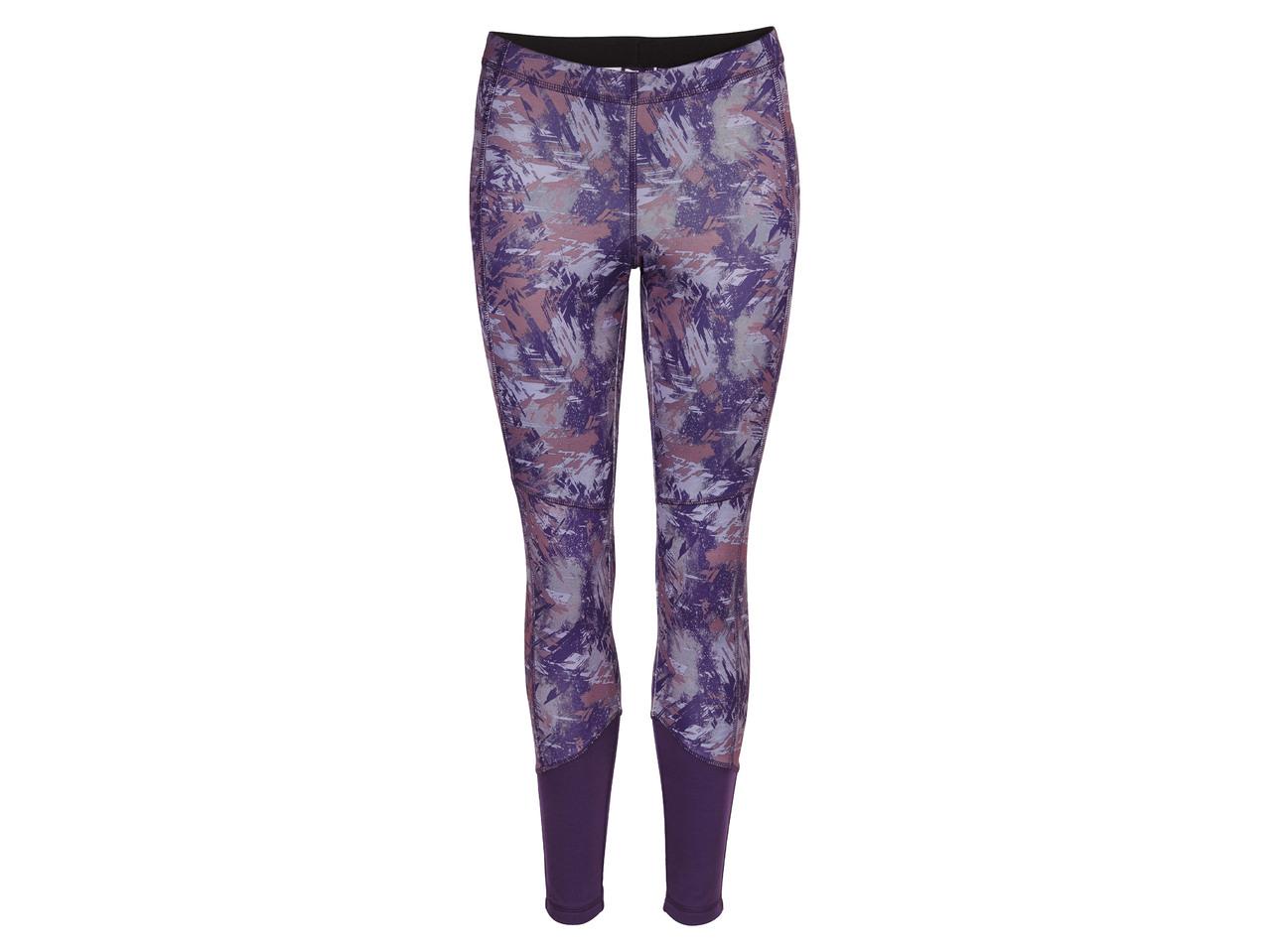 Dámské běžecké softshellové kalhoty Crivit