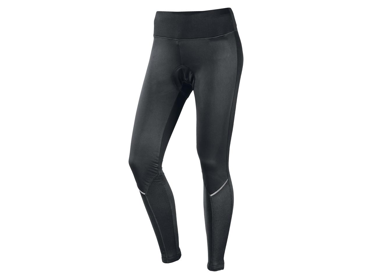 Dámské cyklistické softshellové kalhoty Crivit