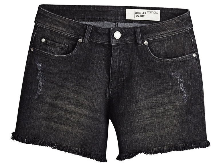 Dámské džínové šortky Esmara z Lidlu  7e1d5a1af7