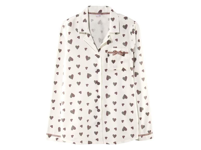 Dámské flanelové pyžamo Esmara Lingerie
