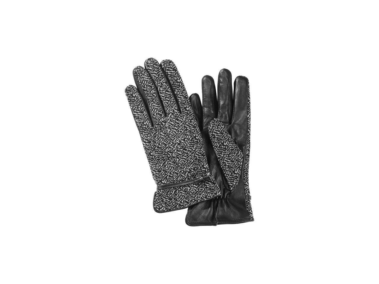 Dámské kožené rukavice Esmara
