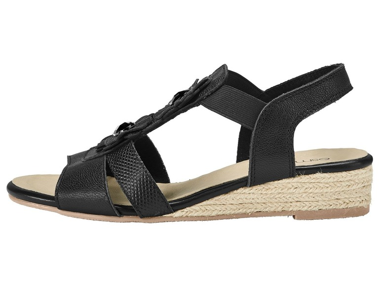 Dámské kožené sandály Esmara