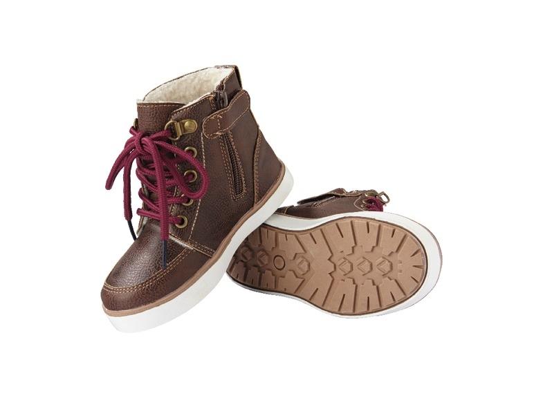 Dětská zateplená obuv Lupilu